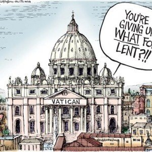 Lent Cartoon